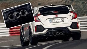 Afinal, por que o Honda Civic Type R tem três saídas de escape?