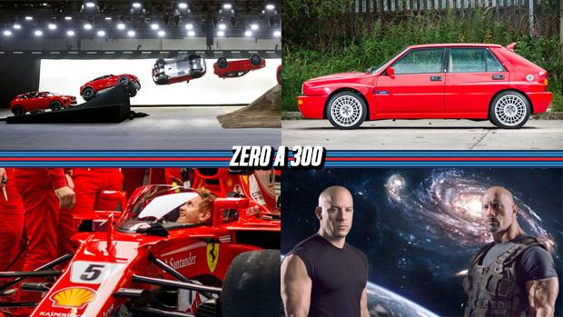 """Jaguar lança o novo E-Pace (literalmente), Ferrari testa o """"para-brisa"""" da Fórmula 1, Velozes e Furiosos pode ter até aventura espacial e mais!"""
