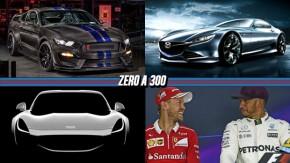 Um Shelby GT350R feito de fibra de carbono, Mazda RX-9 Wankel pode ser revelado em outubro, novos detalhes do novo TVR e mais!
