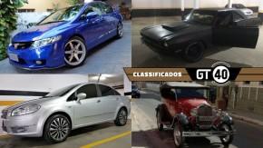 Honda Civic Si com 220 cv, Dart Swinger americano, XR3 1986 e mais novidades no GT40!