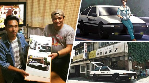 Takumi Fujiwara da vida real: este é o cara que inspirou <i>Initial D</i>
