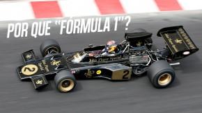 """O que significa o """"fórmula"""" em Fórmula 1?"""