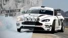 Um Aston Martin Vantage de rali, saltando e deslizando na neve? Claro, por que não?