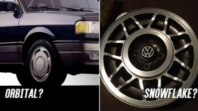 Você sabe os nomes corretos destas rodas da Volkswagen?
