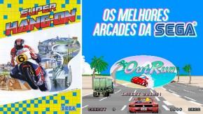 Os arcades de corrida mais épicos da Sega