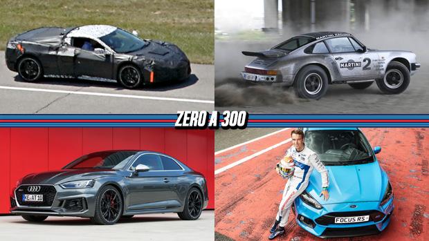 Corvette de motor central-traseirocada vez mais perto, ABT mostra seu RS5 de 510 cv, um Porsche Safari de rali a venda e mais!