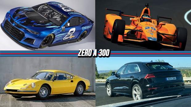 Chevrolet apresenta novo Camaro ZL1 para a Nascar, McLaren cogita disputar a temporada completa da Indy, Ferrari não sabe se fará a nova Dino e mais!