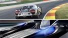 Por que o Porsche 918 Spyder tem as saídas de escape em cima do motor?