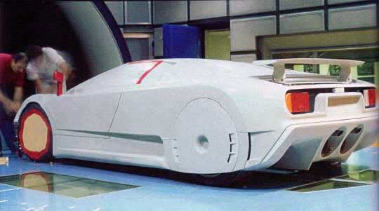 Bugatti-Automobili-SpA-EB110-clay-modeling-wind-tunnel-testing-early-prototype