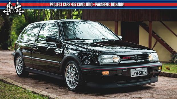 O VW Golf GTI 20 Jahre brasileiro finalmente está pronto