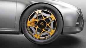 """Como uma fabricante de pneus está tentando """"reinventar a roda"""" para os carros híbridos e elétricos"""