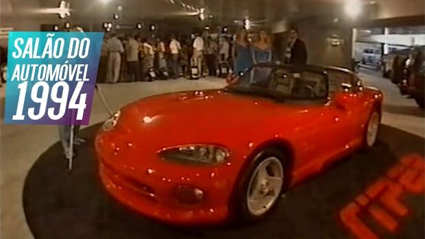 """Nostalgia anos 90: as """"novidades"""" do Salão do Automóvel de 1994!"""