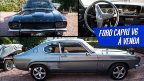 Ford Capri: um clássico cupê esportivo europeu (com motor V6 e tração traseira) à venda no Brasil