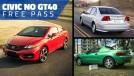 Semana do Honda Civic no GT40: todas as gerações anunciam sem custo até terça que vem!