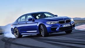 Novo BMW M5 2018: 600 cv, tração integral selecionável e agora mais leve