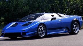Como o Bugatti EB110 deixou de ser um cover do Lamborghini Diablo (sim, isso quase aconteceu)