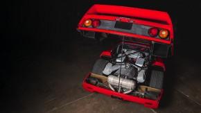 Super-galeria: a Ferrari F40 em detalhes que você nunca viu