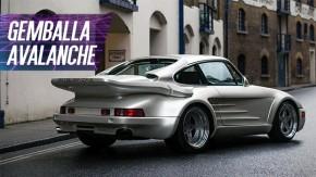Gemballa Avalanche: o bizarro Porsche 911 turbo que era a cara do tuning anos 80