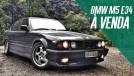 Este BMW M5 E34 feito à mão, raro e muito bem cuidado, está à venda