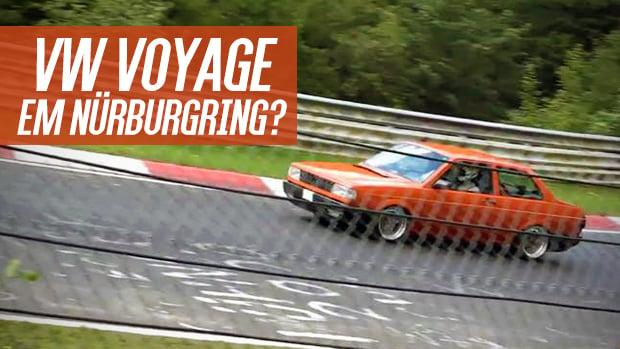 Este VW Voyage viajou dos EUA para a Alemanha e correu em Nürburgring