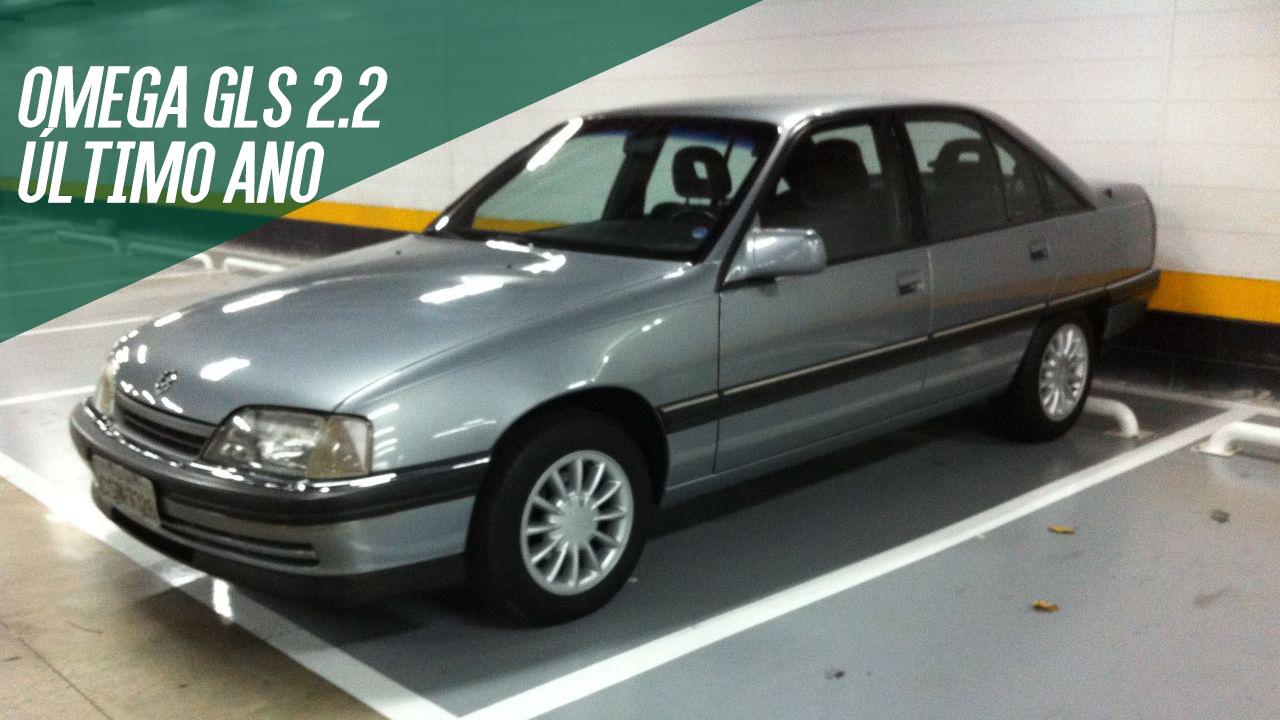 082edca11f3 Um Chevrolet Omega GLS 2.2 do último ano