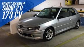 Este Peugeot 306 Rallye com engine swap para XU10 e 174 cv está à venda