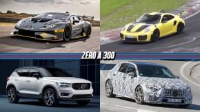 Porsche GT2 RS já virou Nürburgring em menosde 7 minutos, Lamborghini Huracán Super Trofeo ganha versão EVO, Volvo lança o novo XC40 e mais!