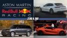 "Aston Martin junta-se à Red Bull na Fórmula 1, Porsche lança perua de 680 cv, Land Rover terá sedã de luxo chamado ""Road Rover"" e mais!"
