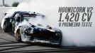Hoonicorn V2: Ken Block acelera seu Mustang biturbo com 1.420 cv e tração integral pela primeira vez