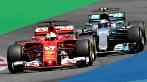 Como Mercedes e Ferrari estão aumentando a octanagem da gasolina na F1 queimando o óleo de seusmotores