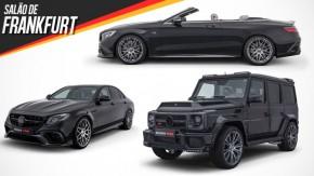 Três carros, 2.500 cv: os lançamentos da Brabus no Salão de Frankfurt