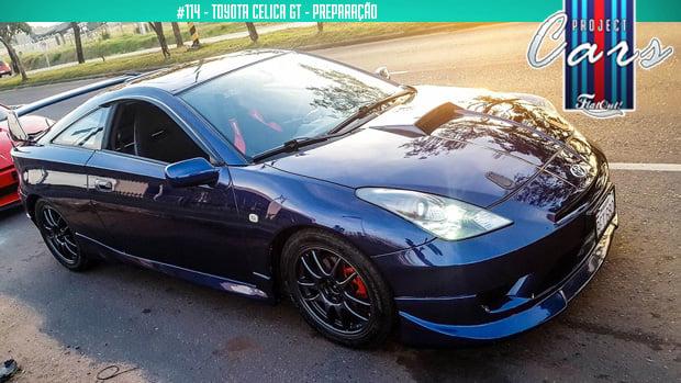 Semi-slicks, novas rodas e suspensão: o Toyota Celica GT volta às pistas