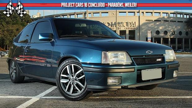 """Kadett """"GSI"""" 2.4: o Project Cars #16 finalmente está pronto"""