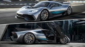 Motor de F1, turbo e mais de 1.000 cv: este é o AMG Project One, o hipercarro da Mercedes