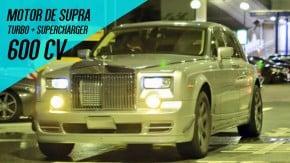 Este Rolls-Royce Phantom esconde um motor 2JZ do Toyota Supra – com turbo e supercharger!