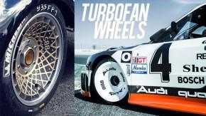 Turbofan wheels: como funcionam as rodas e calotas aerodinâmicas dos carros de corrida dos anos 70 e 80?