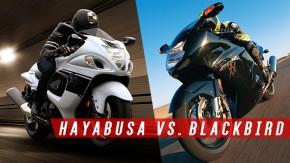 Hayabusa vs Blackbird: o duelo das supermotos japonesas de 300 km/h – e suas consequências