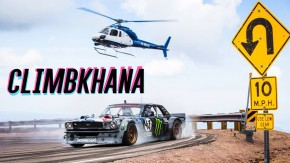 Climbkhana: Ken Block desbrava Pikes Peak com um Mustang biturbo de 1.420 cv