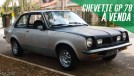 À venda: este raro Chevrolet Chevette GP 78 muito original e pode ir para sua garagem