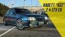 Este Kadett 2.4 está prontinho para track days e para as ruas – e está à venda, claro