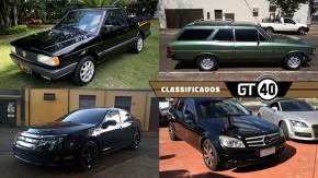Uma rara Saveiro Summer, uma bela Caravan quatro-cilindros, um Fusion V6 AWD e as novidades do GT40