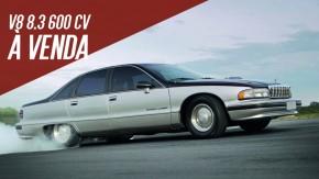 Este Chevrolet Caprice esconde um V8 de 8,3 litros e 600 cv – e está à venda!