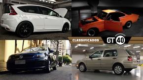 Um raro Citroën C4 VTS turbinado, um Opala Las Vegas preparado, Golf antigo, Golf novo e mais novidades no GT40