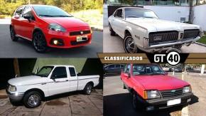 Um Punto T-Jet de 260 cv, o irmão chique do Mustang, um Monza S/R venezuelano e as novidades do GT40