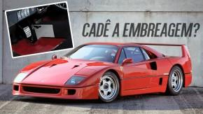 Acredite: a Ferrari fezuma F40 com câmbio semi-automático