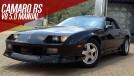 """Um Chevrolet Camaro """"F-body"""" com motor V8 e câmbio manual (!) à venda no Brasil"""
