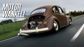 Sim: colocaram um motor Wankel Mazda em um Fusca 1960