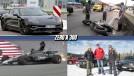 """Porsche Mission E é flagrado em testes, motociclistas são 3 de cada 4 mortos nas marginais de SP, a nova temporada de """"The Grand Tour"""" e mais!"""