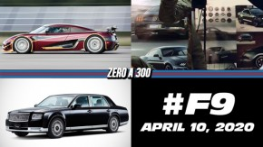 Koenigsegg quebra recorde do Bugatti Chiron de zero a 400 km/h, Ford estádesenvolvendo umMustang Bullitt, Velozes e Furiosos 9 chega só em 2020 e mais!