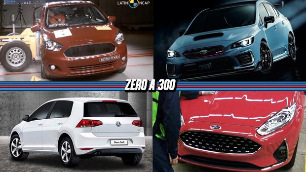 Ford Ka Tem Zero Estrela Em Novo Crash Test Golf   Msi Deixa De Ser Produzido Fiesta Reestilizado Vaza Na Internet E Mais